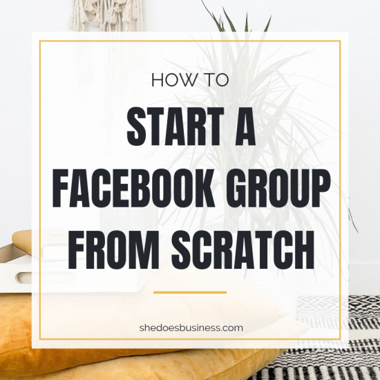 How to Start a FB Group from Scratch